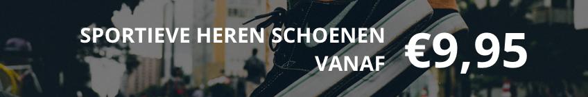 Sportieve heren schoenen vanaf 9,95