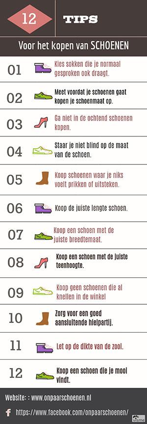 12 schoenen koop tips